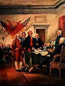 Signing The Declaration
